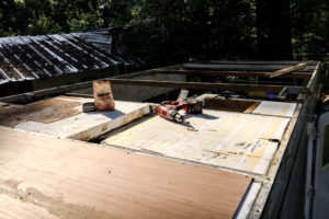 Installing New Plywood On RV Roof